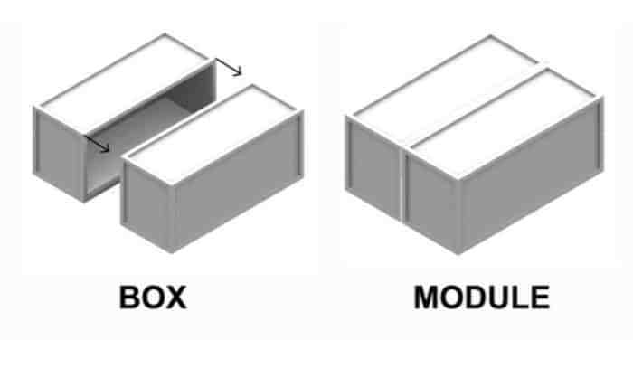 Oficina modular, contenedor, modulo